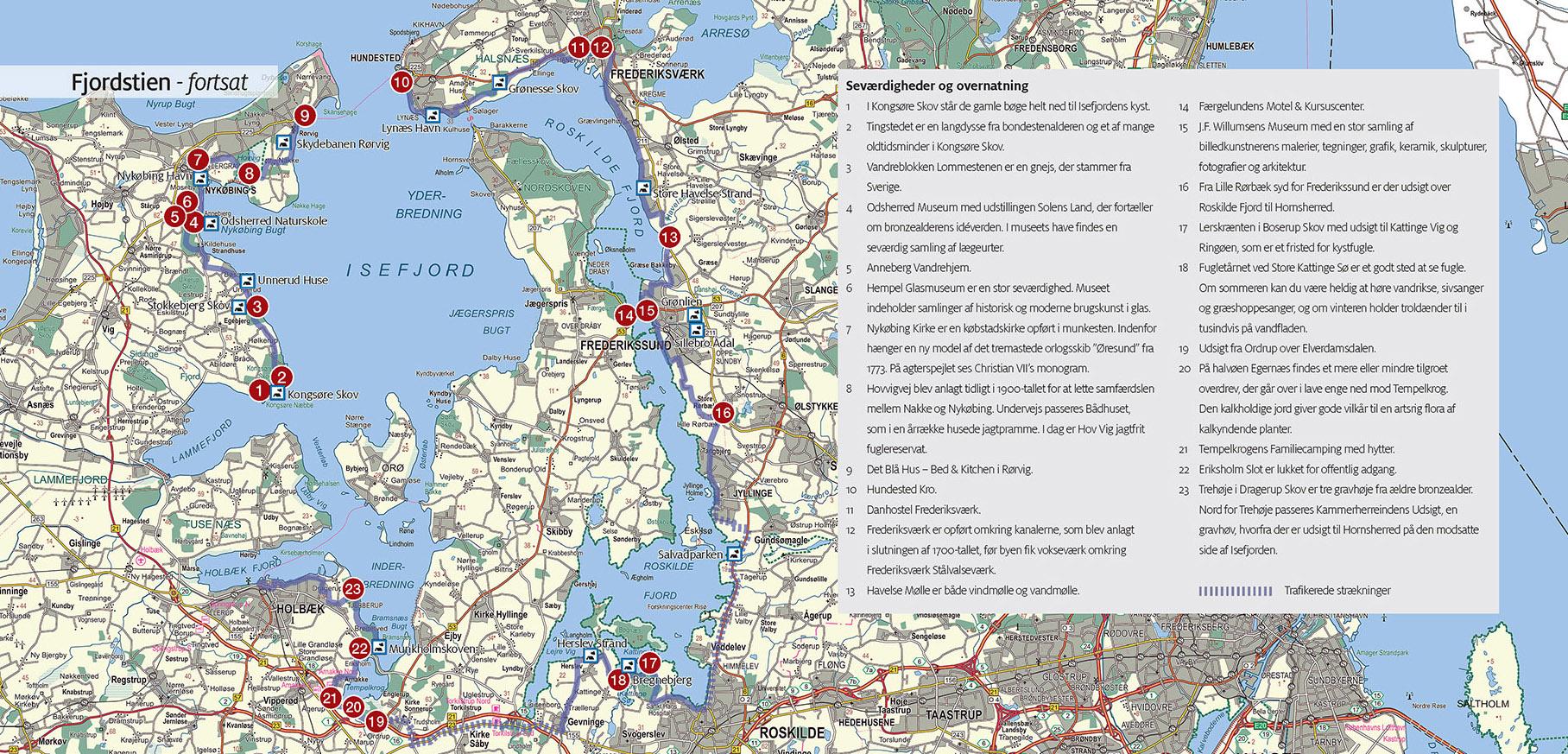 Fjordstien Vandring Vandreture Og Vandreruter I Danmark